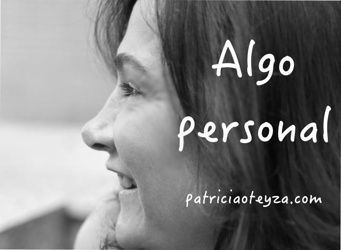 Algo personal - Patricia Oteyza Coach Personal